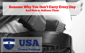 Pa Carry Permit Reciprocity Map 32 Reasons You Don U0027t Carry Every Day And How To Address It