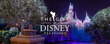 give the gift of a disneyland vacation disneyland resort