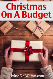 christmas on a budget gift ideas tips and recipes living on a