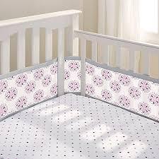 Dahlia Crib Bedding Breathablebaby Dahlia 4 Mesh Crib Liner Bed Bath Beyond