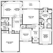 4 Bedroom 2 Bath Floor Plans by 4 Bedroom 2 Story House Plans Kerala Style Escortsea