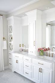 Bathroom Cabinetry Ideas Colors Best 25 White Master Bathroom Ideas On Pinterest White