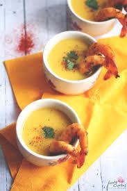 Soupe Au Blender Chauffant Soupe De Butternut Au Lait De Coco Et Crevettes épicées Poire