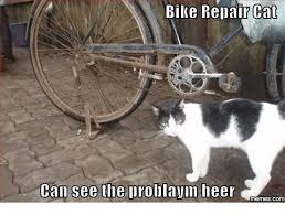 Funny Bike Memes - bike repair cant call see the problaym heer memes com bike meme on