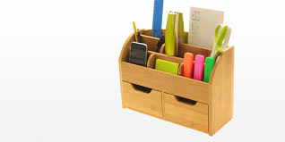 Desk Wall Organizer by Desk Stationery Box Wall Mounted Organiser Bamboo Office Suppliers