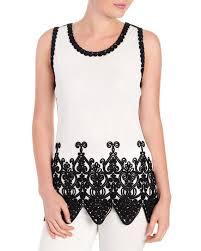 stein mart blouses soutache scalloped sleeveless blouse steinmart fall 2018 fall