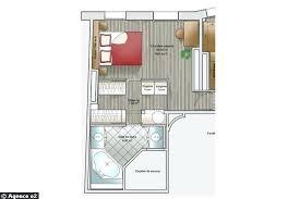 plan chambre a coucher plan chambre plan chambre a coucher avec dressing et salle de bain