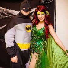 Poison Ivy Halloween Costume Batman Poison Ivy Homemade Halloween Couples Costumes