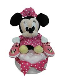 1 tier diaper cake minnie mouse 1 1 baby gifts singapore