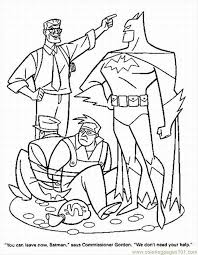 superhero colouring free printable superhero