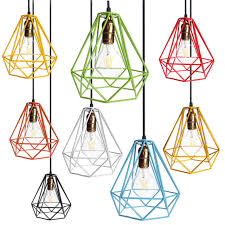 industrial cage light bulb cover l cover loft industrial edison metal wire frame ceiling pendant