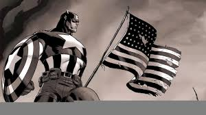 captain america with american flag hd wallpaper fullhdwpp full