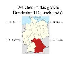 größte stadt deutschlands fläche quiz zahlen und fakten über deutschland 1 teil ppt herunterladen