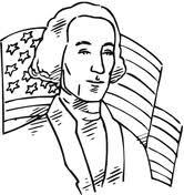 George Washington Color Page george washington coloring pages free coloring pages