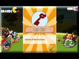 angry birds epic red key unlocks red pig