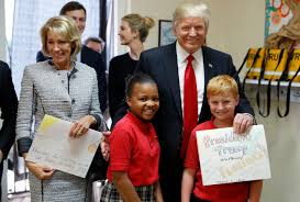 president trump orders betsy devos to review education regulations