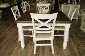 farmhouse off white dining set the workshop farmhouse off white dining set