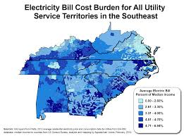 Map Of The South Google Features Map Of Poverty And Electricity Costs In The South