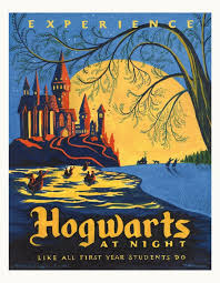 travel posters images Harry potter travel posters apartment therapy