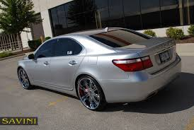 lexus sedan 2007 ls savini wheels