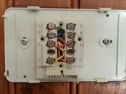 honeywell thermostat wiring diagram rth6350 wiring diagram and