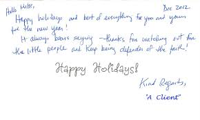 happy holiday letter to clients starengineering