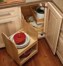 lower kitchen cabinet storage ideas change the way you use blind corner cabinets mecc