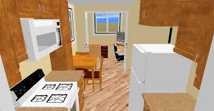 the kitchen in cozy u0027s layout we call the