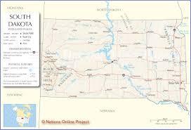 Map Of Sd South Dakota Map Travel Across The Usa