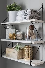bathroom shelf ideas make your own farmhouse bathroom yourself rustic wood