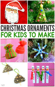jolly diy christmas ornaments ideas homemade memories for kids