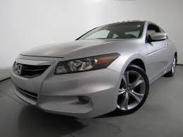 2011 honda accord white used 2011 honda accord cpe 2dr v6 auto ex l w navi carolina
