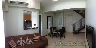 3 bedroom loft bi level apartment for rent in two serendra
