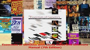 download essentials of genetics with study guide and solutions