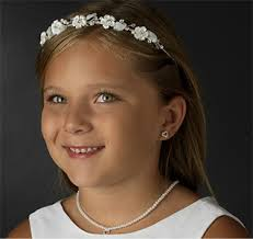 flower girl headbands flower girl tiaras flower girl headbands
