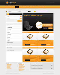 web shop design gigaspace free psd webshop by gerbengeeraerts on deviantart