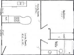 100 one bedroom cottage floor plans home design floor plan