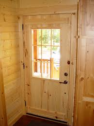 rustic lodge log and timber furniture handcrafted from green Exterior Pine Doors