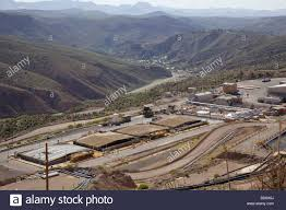 Freeport by Central Solvent Extraction Plant Morenci Mine Freeport Mcmoran