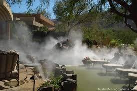 Patio Misting Kits Misting Cooling Systems For Palm Springs And Palm Desert