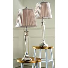safavieh mercury 33 in silver table lamp lit4141a the home depot