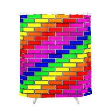 bright yellow shower curtain liner neon yellow shower curtain brick wall 2 shower curtains in many