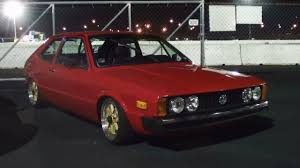 volkswagen scirocco 1990 bagged 1976 vw scirocco 2 0 aba five speed youtube