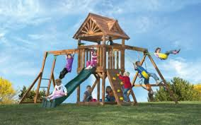 Backyard Playground Slides by 6 Companies That Make Eco Friendly Outdoor Play Equipment For Your