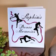 Photo Album Personalized Personalized Dance Photo Album Ballet Tap Or Jazz