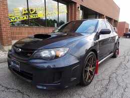 subaru wrx sti 2011 used subaru impreza wrx sti for sale toronto on cargurus