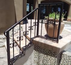 custom wrought iron stair railings u0026 fences