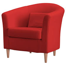 Overstuffed Armchair Accent Chairs With Red Distinctive Excellent Ikea For Elegant