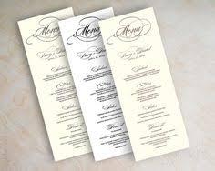 diy wedding menu cards diy pearls lace wedding menu template from print