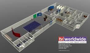 tv worldwide to open america u0027s largest internet tv studio